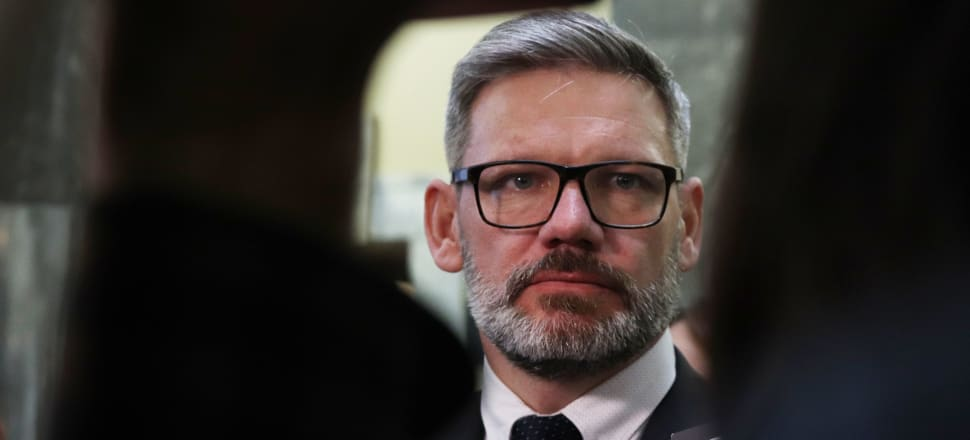 Workplace Relations and Safety Minister Iain Lees-Galloway. Photo: Lynn Grieveson.