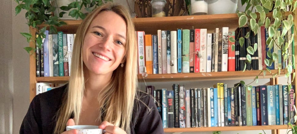 This week's bookshelf star is good ol' Jazz Thornton, author of the best-selling and inspiring self-helper Stop Surviving Start Fighting (Penguin, $38). Her books reveal a taste for old-school sci-fi - Asimov, the Dune books, Arhur C Clarke - and to her left, one of the books from a series which have become almost as much a part of Kiwi life as the Yates Garden Guide, Māori At Work by Scotty Morrison.