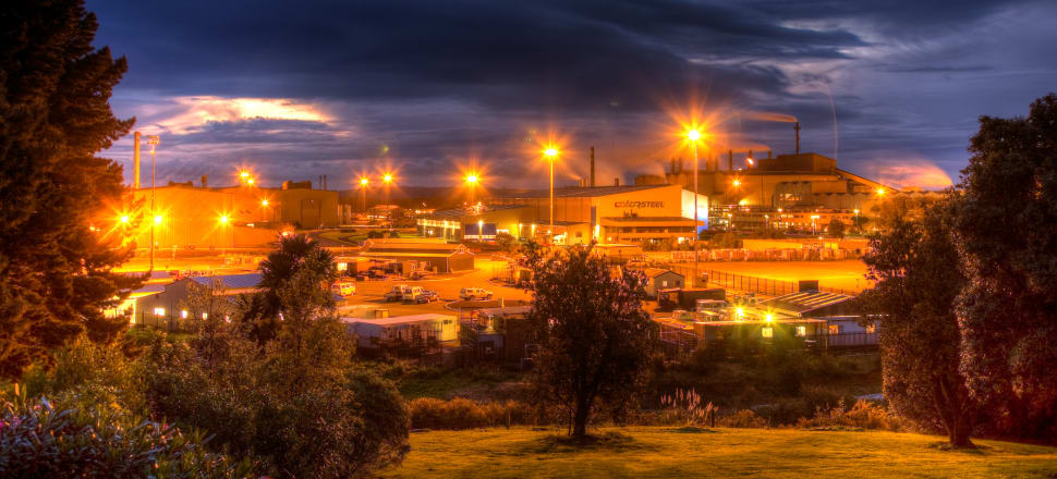 Bluescope's Glenbrook steel mill in South Auckland. Photo: Flickr/russellstreet