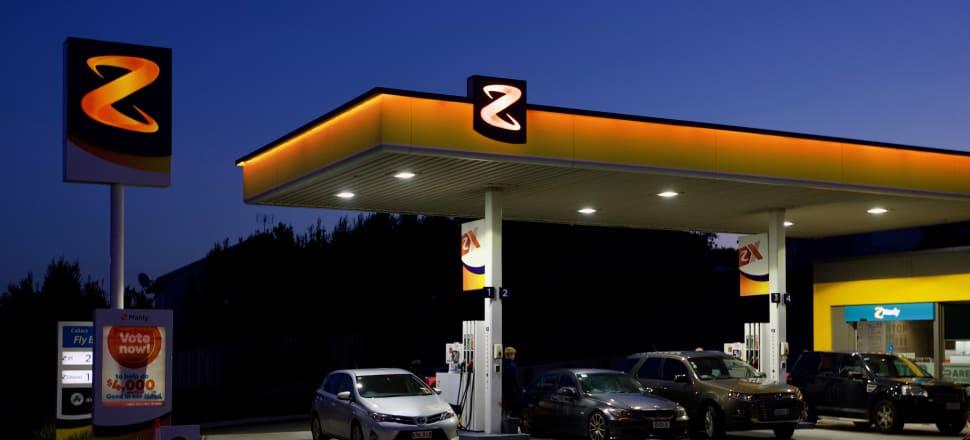 Z Energy reports a 60 percent slump in its latest quarterly earnings. Photo: John Sefton