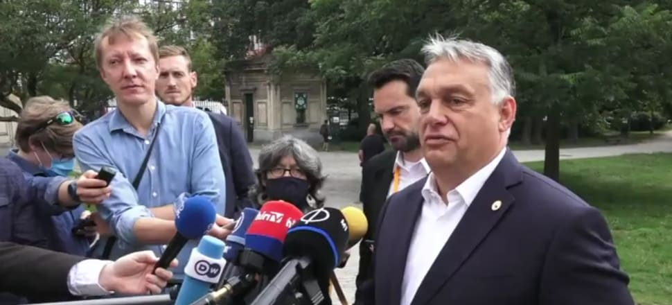 Hungarian Prime Minister Viktor Orbán: Both the Polish and the Hungarian governments worked hard to remove a contentious clause. Photo: EC screenshot