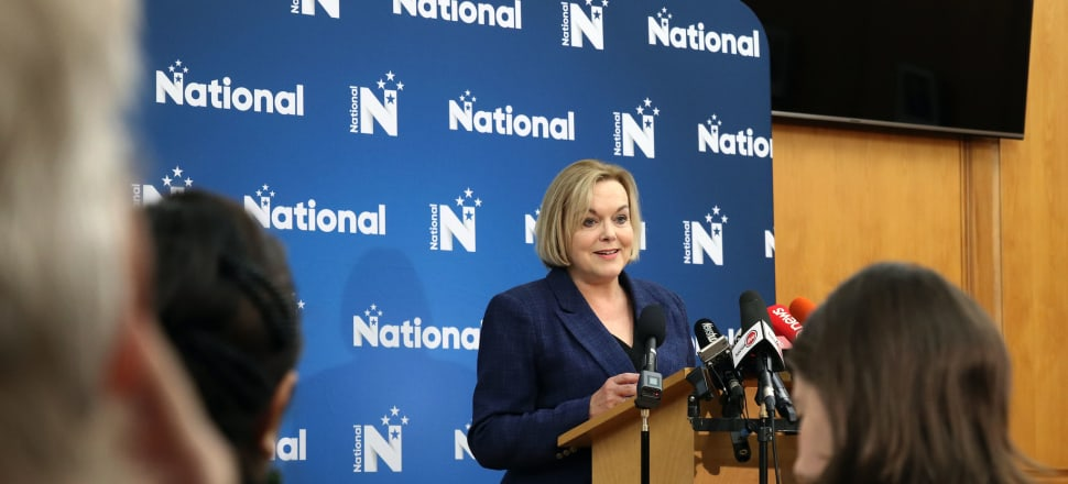National leader Judith Collins has unveiled a proposed election policy to encourage Kiwis to start up new businesses. Photo: Lynn Grieveson.
