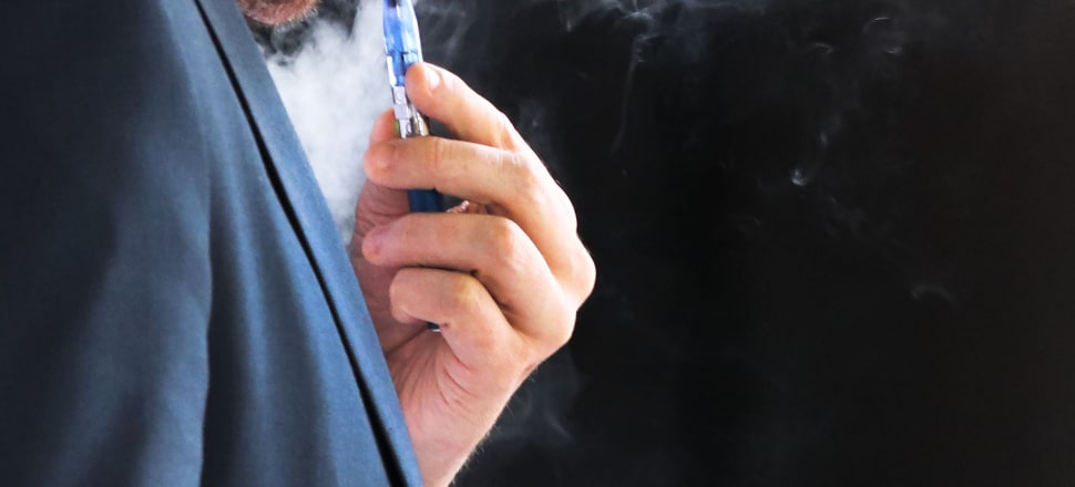 Until now, e-cigarettes and vapes have been mostly unregulated in New Zealand. Photo: Lynn Grieveson