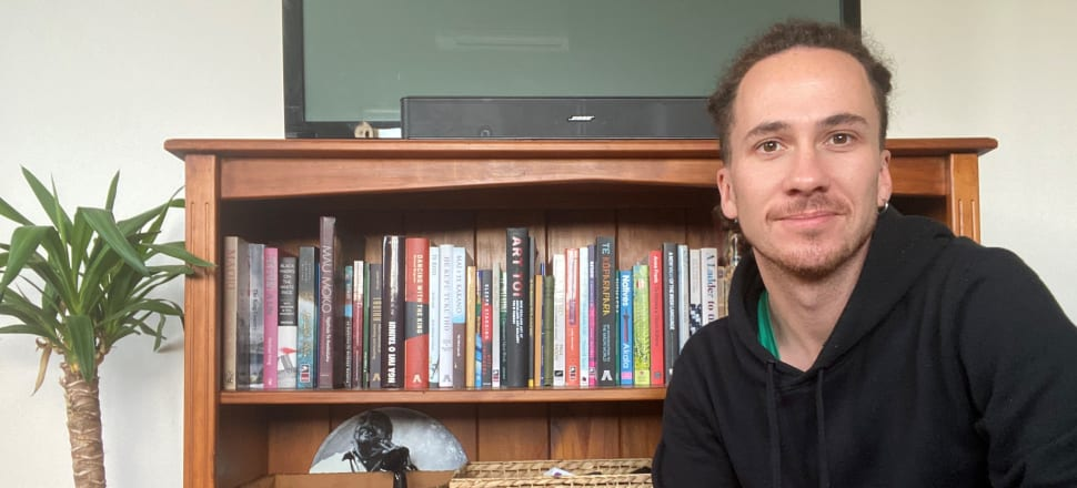 This week's bookcase star is lecturer in te reo Māori at AUT, Hemi Kelly (Ngāti Maniapoto, Ngāti Tahu, Ngāti Whāoa), author of the Penguin best-sellers, A Māori Word A Day and A Māori Phrase A Day. His books collection include Te Te Kōparapara: An introduction to the Māori world, Nga Iwi O Tainui, Black Marks on a White Page, and A New View of the Irish Language.