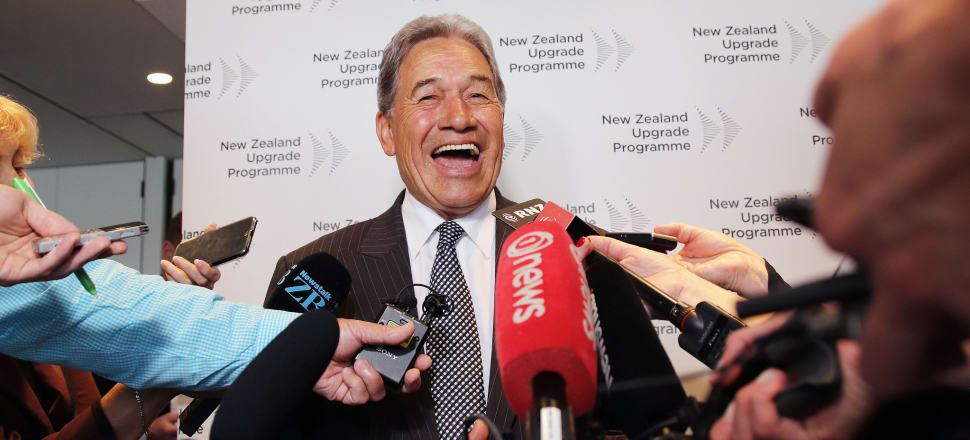 Winston Peters has revelled in the role of Deputy Prime Minister and acted as a handbrake on hopes for reform towards a sustainable future, even while his party's popularity dwindled to 2.9 percent in recent polling. File photo: Lynn Grieveson