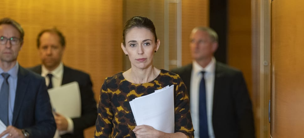 Jacinda Ardern once described the spousal deduction as a human rights abuse. Mark Mitchell/Pool.