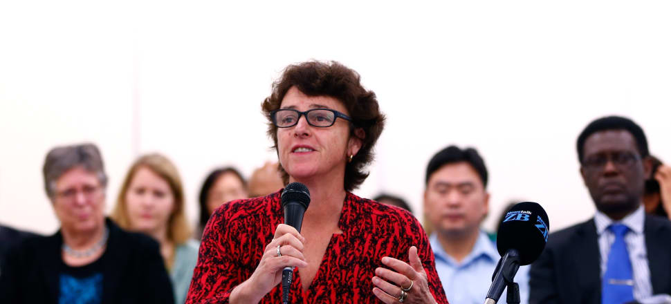 Dame Susan Devoy believes more funding should be given to New Zealand's emerging athletes - like she received on her way to becoming one of the world's greatest squash players. Photo: Getty Images.