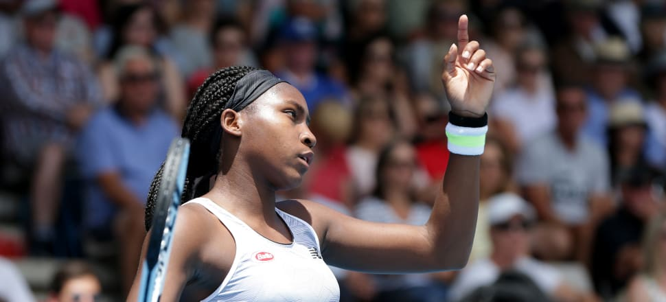 """Teenage tennis star Coco Gauff joined sportswomen around the globe speaking up in protest at the killing of George Floyd. """"Everyday innocent people are dying because of our skin color,"""" she wrote. Photo: Getty Images."""