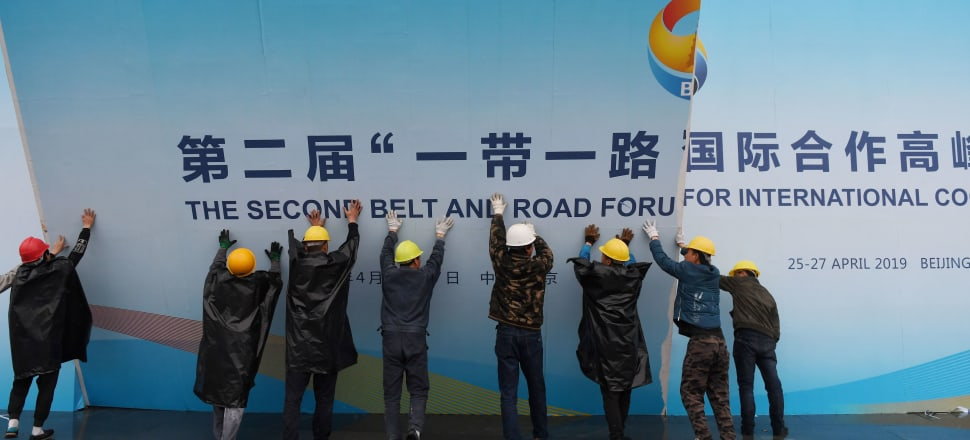 New Zealand's role in China's Belt and Road Initiative is still under construction - but could the Covid-19 pandemic see the global project fall apart? Photo: Getty Images.