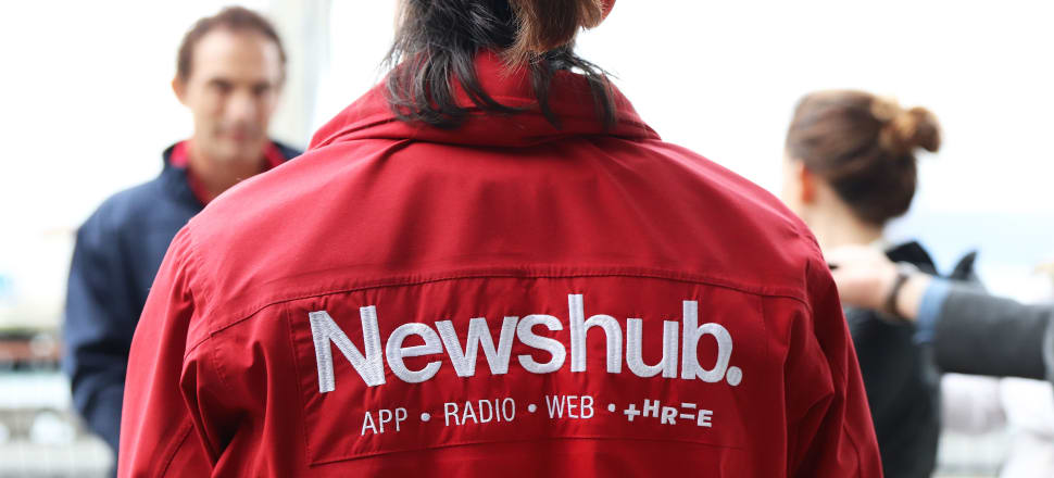Newshub is Mediaworks' news brand for both radio and television. Photo Lynn Grieveson.
