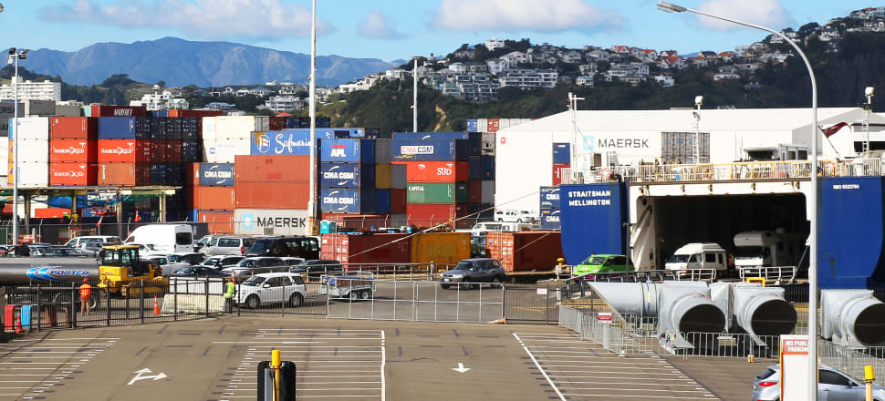 The first payout from the $100 million New Zealand Green Investment Finance fund will help Wellington's port decarbonise. Photo: Lynn Grieveson