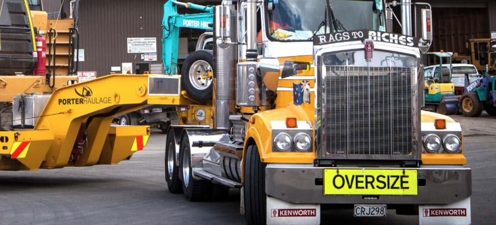 EROAD installs devices on trucks and other vehicles that allows them to measure where they've gone for road user charges measures and fleet management. Photo: Supplied