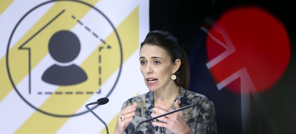 Moving from Level 2 to Level 1, Prime Minister Jacinda Ardern said new cases would emerge at the border and we should remain vigilant. File photo: Pool