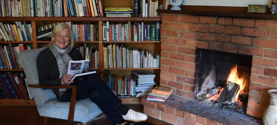 Bliss! This week's bookcase star is Anna Locker-Lampson, convenor of the inaugural Central Hawkes Bay writers festival. Sessions will be held in Waipawa and Takapau from July 23-25, featuring sessions including Bill Ralston interviewing Steve Braunias. Tickets are available on Eventfinda.