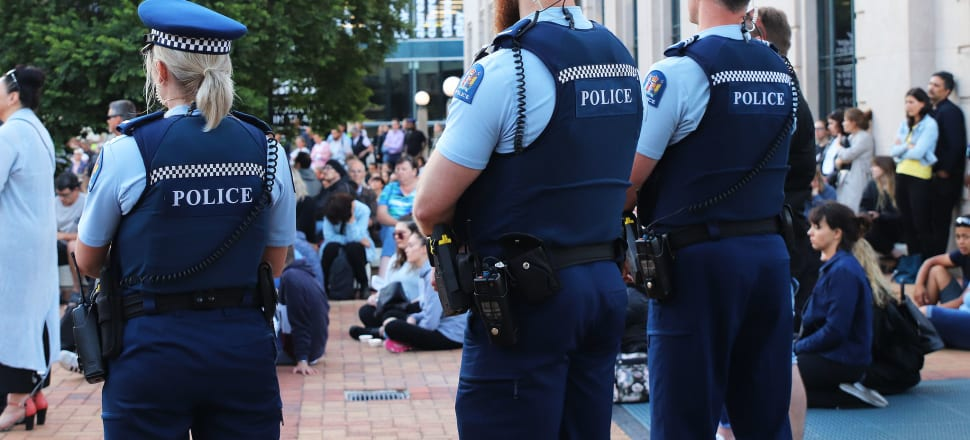 The recent calls to defund police forces, off the back off the Black Lives Matter movement, are at odds with New Zealand's plan to expand its force. Photo: Lynn Grieveson
