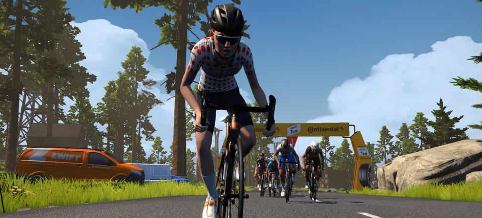 Leading Kiwi cyclist Ella Harris will become an avatar and ride in the Tour de France Virtual starting on July 5.  Photo: Zwift.