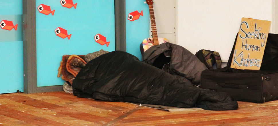 Lockdown eliminated rough sleeping in New Zealand - but what's the long-term solution? Photo: Lynn Grieveson