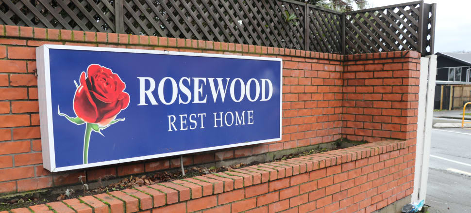Christchurch's Rosewood rest home was taken over by the district health board because of Covid-19. Photo: David Williams