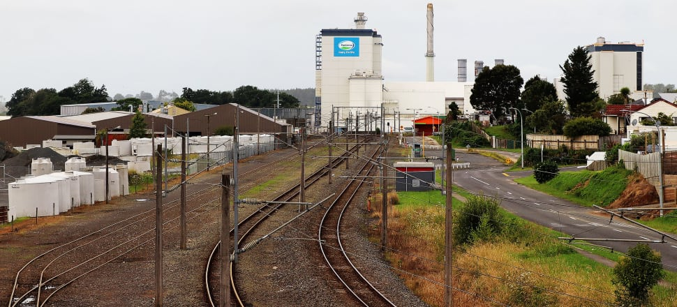 Fonterra is KiwiRail's largest customer and uses rail to ship its finished goods around the country, and often to seaports where they are exported. Photo: Lynn Grieveson