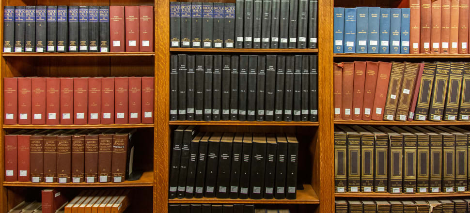 People generally have a lot of trust in libraries to give them trustworthy information. Photo: Getty Images