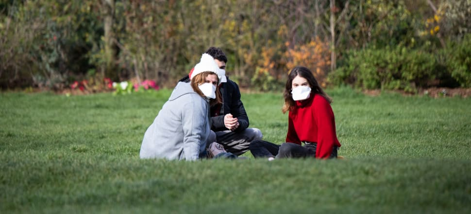 Young people are happier to take their chances with Covid-19 - older generations not so much, in what some might see as an exact inversion of attitudes to climate change. Photo: Getty Images