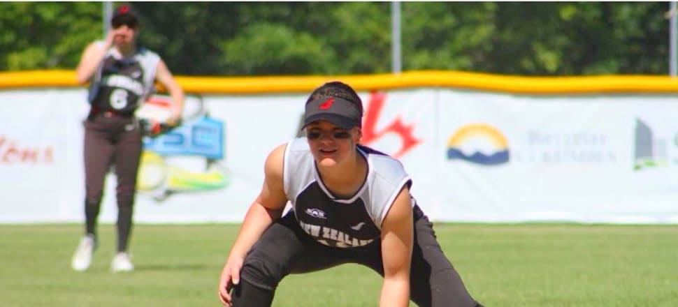 At 17, Caitlyn Lewin has already played for the White Sox at two international tournaments. Photo: supplied.