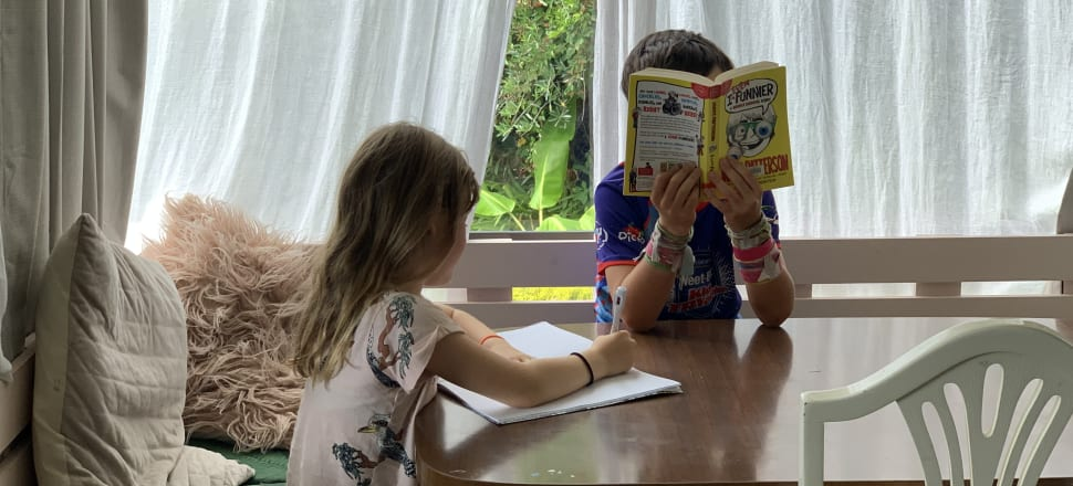 What to do with the kids if they need to be schooled from home? Photo: Bonnie Sumner