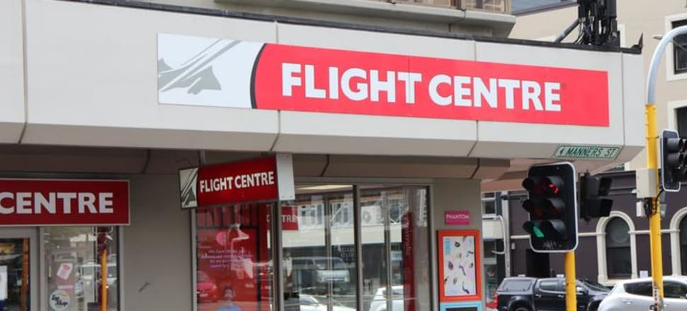 Flight Centre has announced that 250 staff would be made redundant from today, and 33 shop would close temporarily, due to the Covid-19 coronavirus outbreak. Photo: RNZ / Matt Chatterton