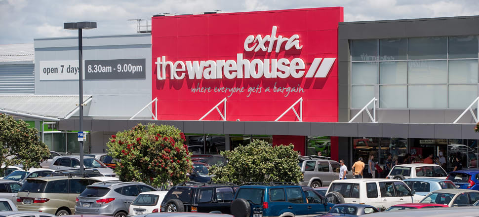 The Warehouse will remain open during the four-week lockdown in New Zealand. Photo: Getty Images
