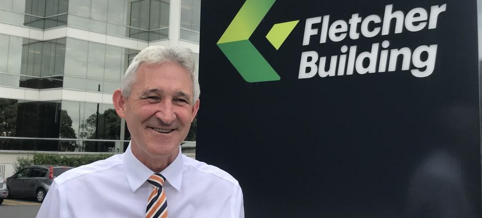 Fletcher Building chief executive Ross Taylor. Photo: Nikki Mandow
