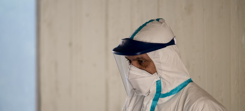 Thousands of care workers can't access protective clothing when they visit people in their homes. Photo: Getty Images