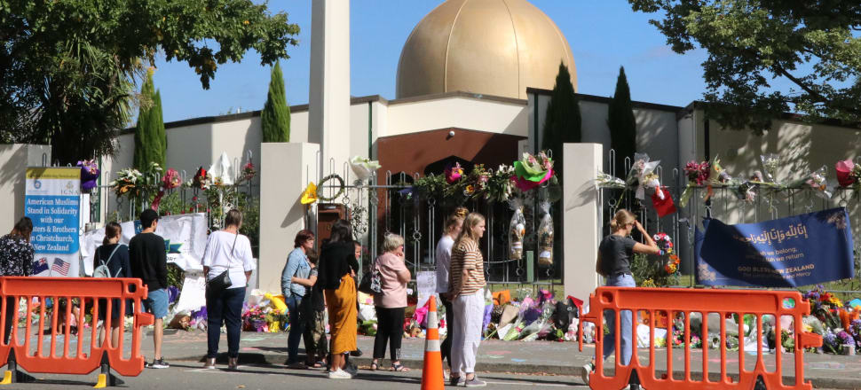 The terror attack in March last year sparked an outpouring of public grief and support. Photo: David Williams