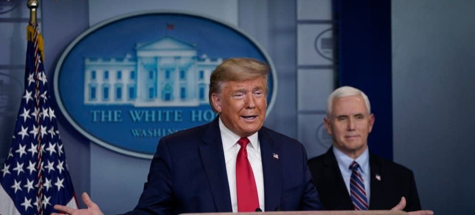 It's increasingly clear that the bombastic America First stance of President Donald Trump is backfiring just when international cooperation is most needed, says Peter Bale. Photo: Getty Images