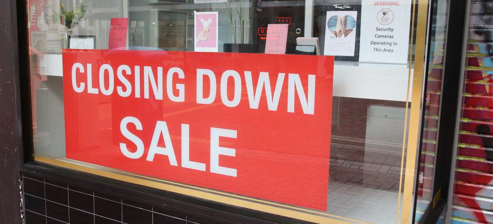 Business confidence slammed. Photo: Lynn Grieveson