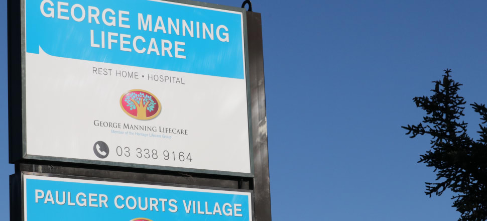 The George Manning aged care village in Christchurch is one of the clusters of Covid-19 cases identified by the Ministry of Health. Photo: David Williams