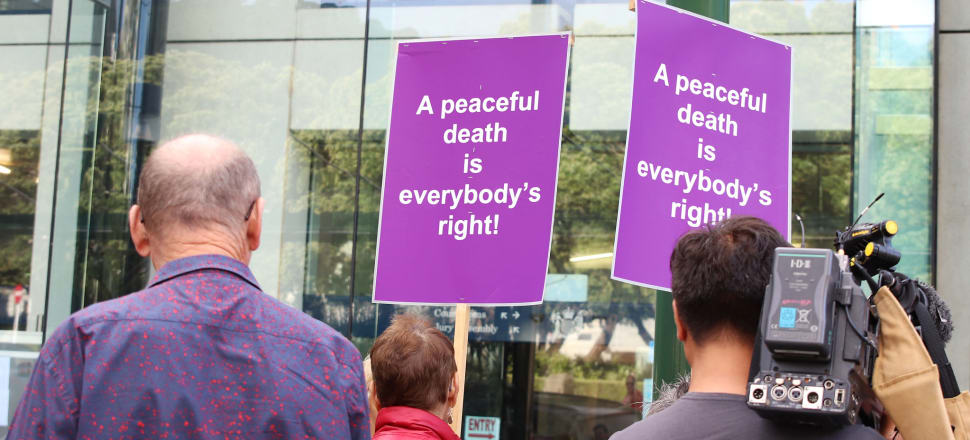 New Zealanders will vote whether to ratify the End of Life Choice Act at the election. Photo: Lynn Grieveson