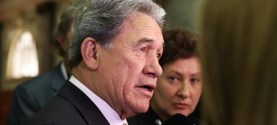 Winston Peters says NZ First can support new Immigration powers because they will be exercised within a tight policy framework. Photo: Lynn Grieveson