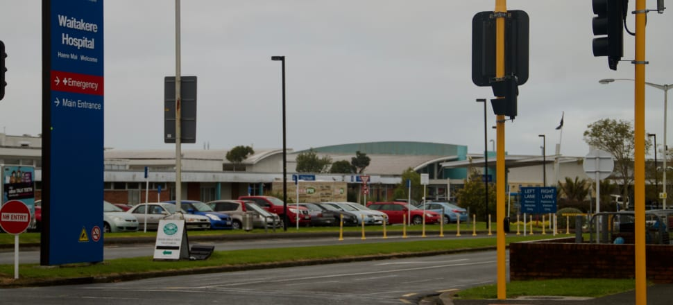 Waitakere Hospital is under scrutiny over 10 cases of Covid-19 and its policy of rostering nurses to work in both Covid-19 and non-Covid-19 areas. Photo: Phil Prendeville