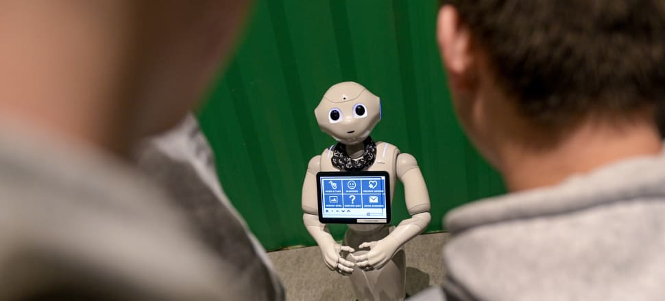 "Some suggest the impact of Covid-19 may accelerate the uptake of robotics and use of ""intelligent process automation"" to do all or part of the work that humans used to do. File photo: Getty Images"