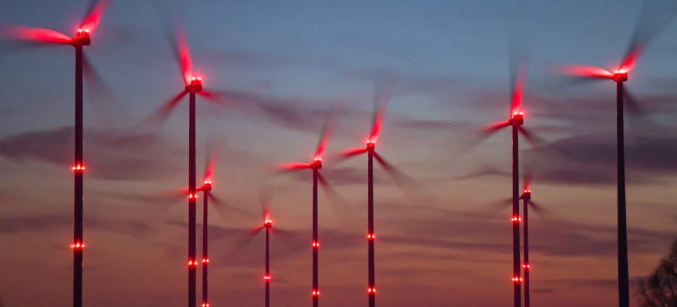 Wind is a key clean energy source. Photo: Getty Images