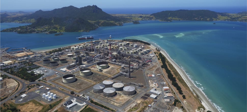 Marsden Point oil refinery was built in the 1960s and expanded under Think Big in the 1980s. But in 2020 its fate hangs in the balance. Photo: Supplied.