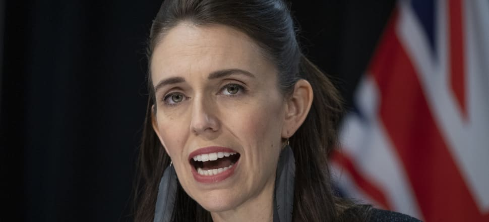 Prime Minister Jacinda Ardern has managed to breeze through most tough moments of the coronavirus response, but the combination of a rushed law and funeral concerns made Wednesday particularly difficult. Photo: Pool.