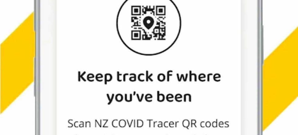 "The Government has released its ""digital diary"" contact tracing app. Screenshot: NZ COVID Tracer"