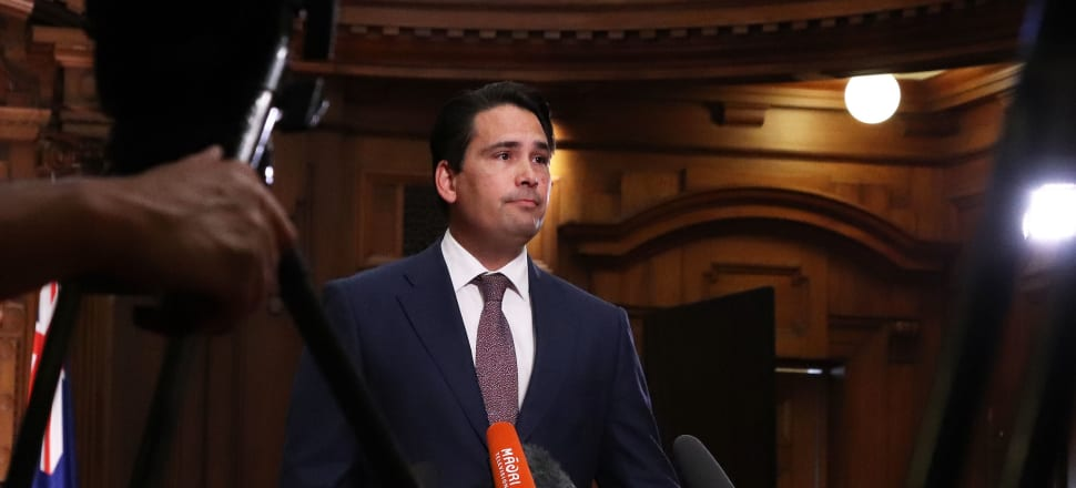 National leader Simon Bridges has summoned his caucus for an urgent meeting on Friday to discuss his leadership. Photo: Lynn Grieveson.