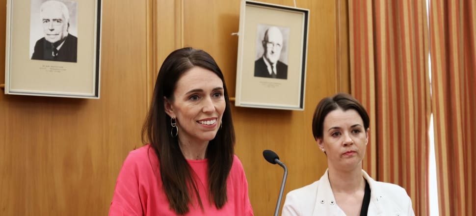 Jacinda Ardern and Labour President Claire Szabo: they will be returning to Parliament in a bouyant mood after stunning poll results, but also will know nothing is certain. File photo: Lynn Grieveson