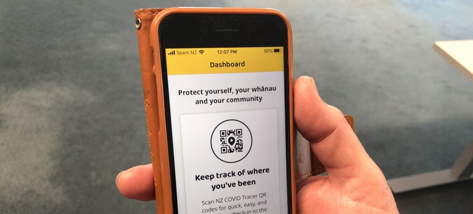 Easy to download and use - but how effective will the Government's new contact tracing app be? Photo: Emile Donovan