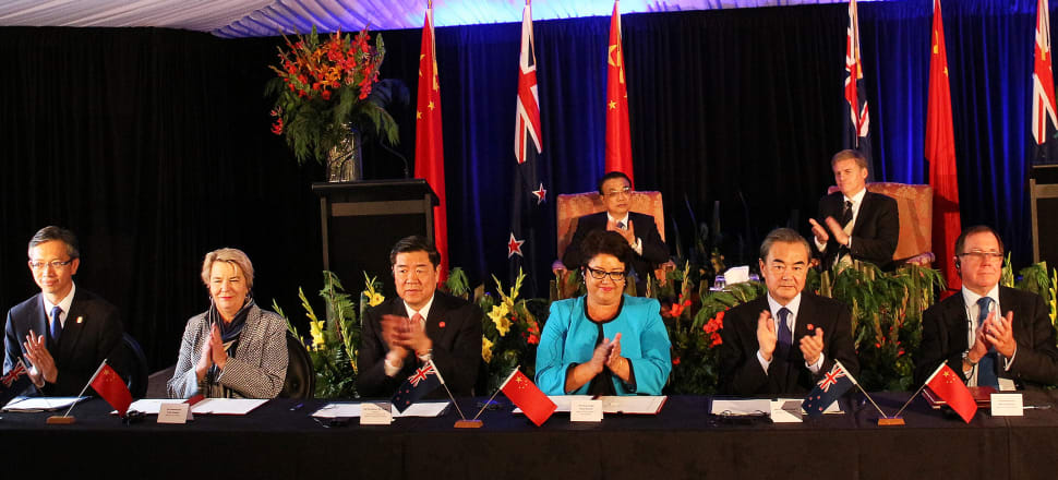New Zealand rolls out the red carpet when Chinese officials come to visit - and criticising the mega-economy's expansionist actions is a delicate task. Photo: Bernard Hickey