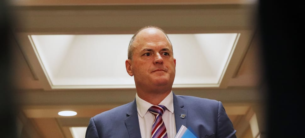 National Party leader Todd Muller has questioned the Government's optimistic projections for unemployment rates in 2020. Photo: Lynn Grieveson