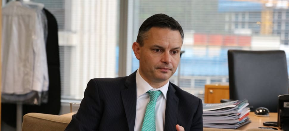 Green Party co-leader James Shaw has done more than his fair share of grovelling over the $11.7m in funding given to Taranaki's Green School. File photo: Shane Cowlishaw.