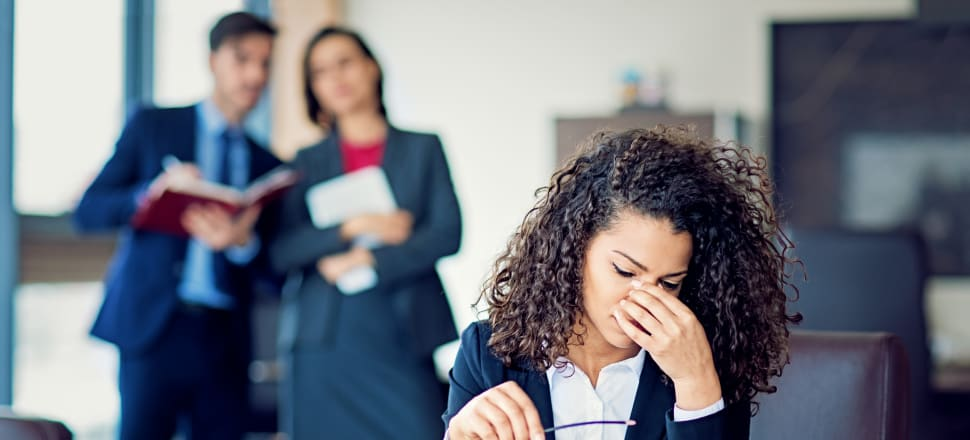 Despite the prevalence and awareness of workplace bullying and harassment in New Zealand, a new government report says current systems and processes don't adequately address the issue. Photo: Getty Images